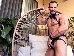 Logan Cardenas - Flirt4Free - teddy Latino web cam Model Hard Jerks His Cock with Toys up His culo