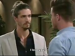 7de Laan Gay Kiss Between Arnu De Villiers and Simon Tuit (South African TV Show)