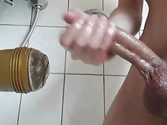 Fucking Fleshligt in the Shower